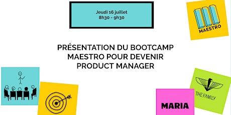 Petit-déjeuner de présentation du bootcamp  Maestro billets