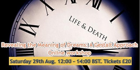 Revealing the Meaning of Dreams: A Gestalt Approach tickets