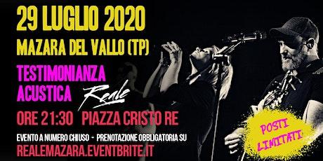 Reale live @ Mazara del Vallo (TP) biglietti