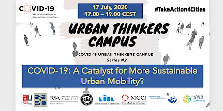 COVID-19: A Catalyst for More Sustainable Urban Mobility? tickets