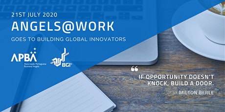 Angels@Work goes to BGI - Building Global Innovators tickets