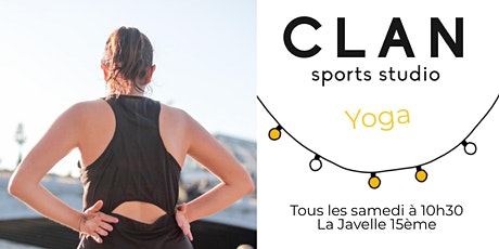 Clan Yoga Club : Yoga en extérieur billets