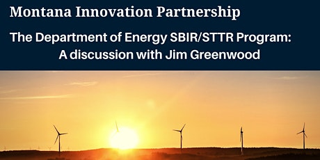 Webinar on the Department of Energy  SBIR/STTR program. tickets
