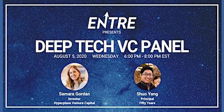 DeepTech VC Panel Tickets