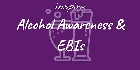 Alcohol Awareness and Extended Brief Interventions (Full day training) ingressos