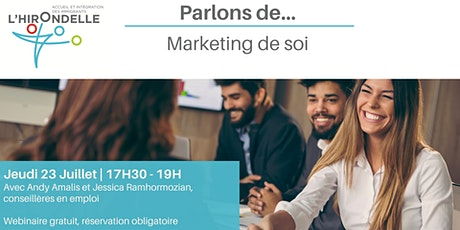 Parlons de: Marketing de soi billets