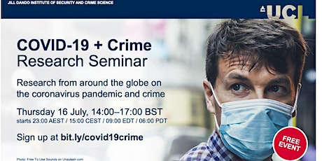 Research Seminar: COVID-19 and Crime tickets