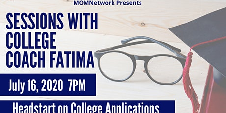 Sessions with College Coach Fatima tickets