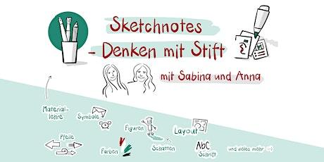 Sketchnotes - Denken mit Stift Tickets