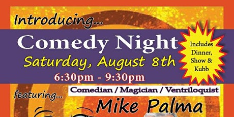 Comedy Night at JAM Entertainment Center with special guest Mike Palma tickets