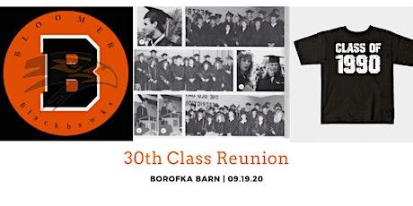 BHS Class of 1990 30th Class Reunion tickets