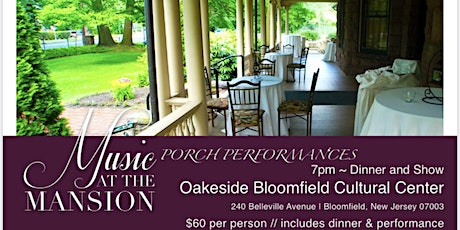 Music at the Mansion - PORCH PERFORMANCES - Lisa Viggiano tickets