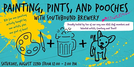 Painting, Pints, and Pooches tickets