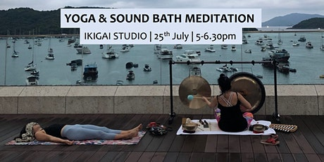 Yoga & Sound Bath Meditation @IKIGAI tickets