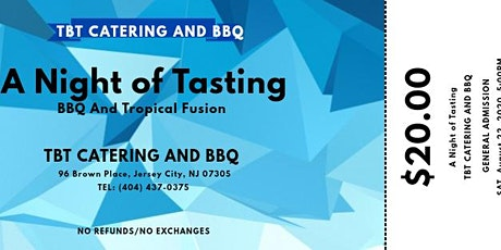 A Night of Tasting BBQ and Tropical Fusion tickets