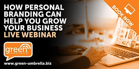 How Personal Branding can help you Grow your business (LIVE Webinar) tickets