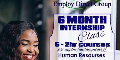 Human Resource Internship Class Session V tickets