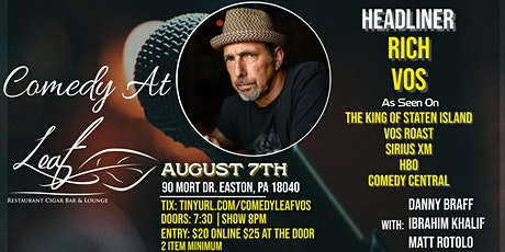Comedy at Leaf Restaurant with Rich Vos! tickets