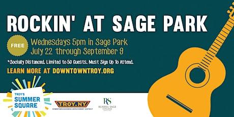 Rockin' At Sage Park tickets