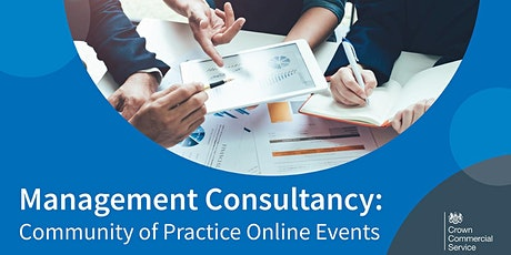 Management Consultancy: Community of Practice Online Events tickets
