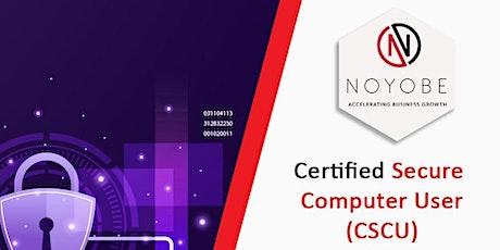 EC - Council Certified Secure Computer User(CSCU) tickets