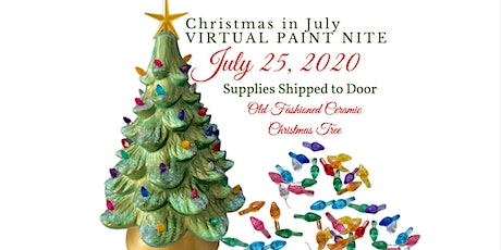 Christmas in July - Ceramic Tree Event- Virtual Instruction tickets