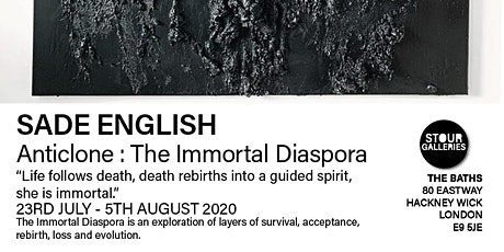 Sade English Exhibition 'The Immortal Diaspora' tickets