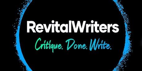 RevitalWriters: Critique. Done. Write. tickets