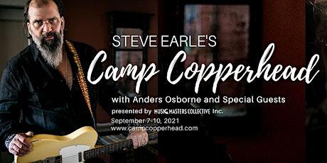 Steve Earle's Camp Copperhead tickets