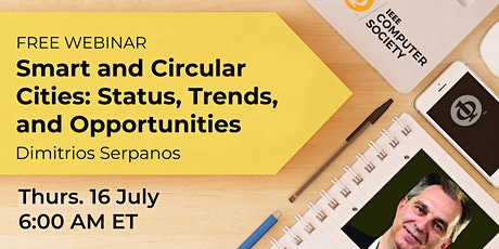 Smart and Circular Cities: Status, Trends and Opportunities tickets
