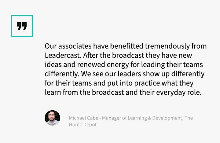 Leadercast 2020—Ripple Effect image