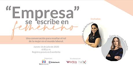 """""""Empresa"""" se escribe en femenino boletos"""