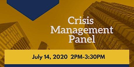 Crisis Management Panel tickets
