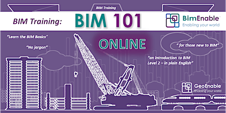 BIM 101 - Essentials of BIM and Digital Engineering [LIVE WEBINAR] tickets