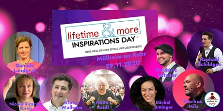 lifetime & more Inspirations Day Tickets