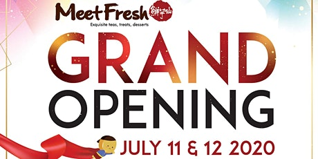 Free Desserts | Meetfresh Mississauga Grand Opening tickets