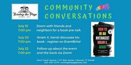 Community Conversation - How To Be An Antiracist Pre-Talk tickets