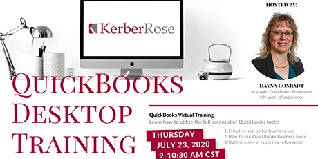QuickBooks Desktop Training tickets