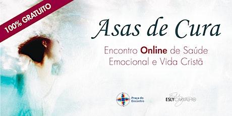 Asas de Cura: Encontro Online de Saúde Mental e Vida Cristã ingressos