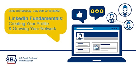 LinkedIn Fundamentals:  Creating your profile and growing your network tickets