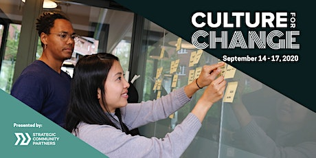 Culture for Change Virtual Conference tickets