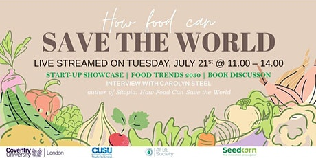 How Food Can Save The World tickets