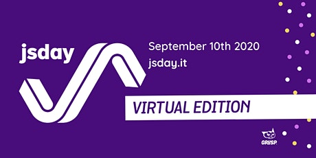 jsday 2020 - Virtual Edition biglietti