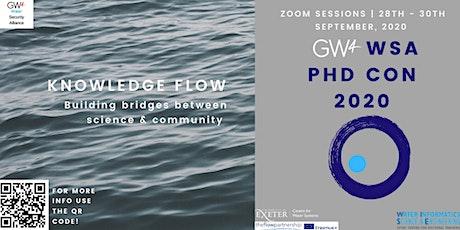 GW4 WSA PHD CONFERENCE 2020 biglietti