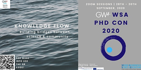 GW4 WSA PHD CONFERENCE 2020 billets