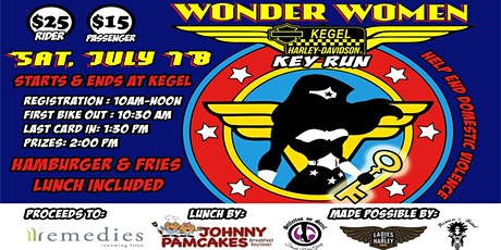 Wonder Women Key Run tickets
