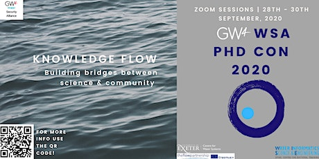 GW4 WSA PHD CONFERENCE 2020 tickets