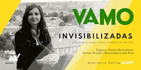 Invisibilizadas: el rol de la mujer en el arte entradas