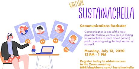 Sustainachella-Communications tickets