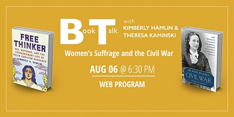 Book Talk: Women's Suffrage and the Civil War tickets